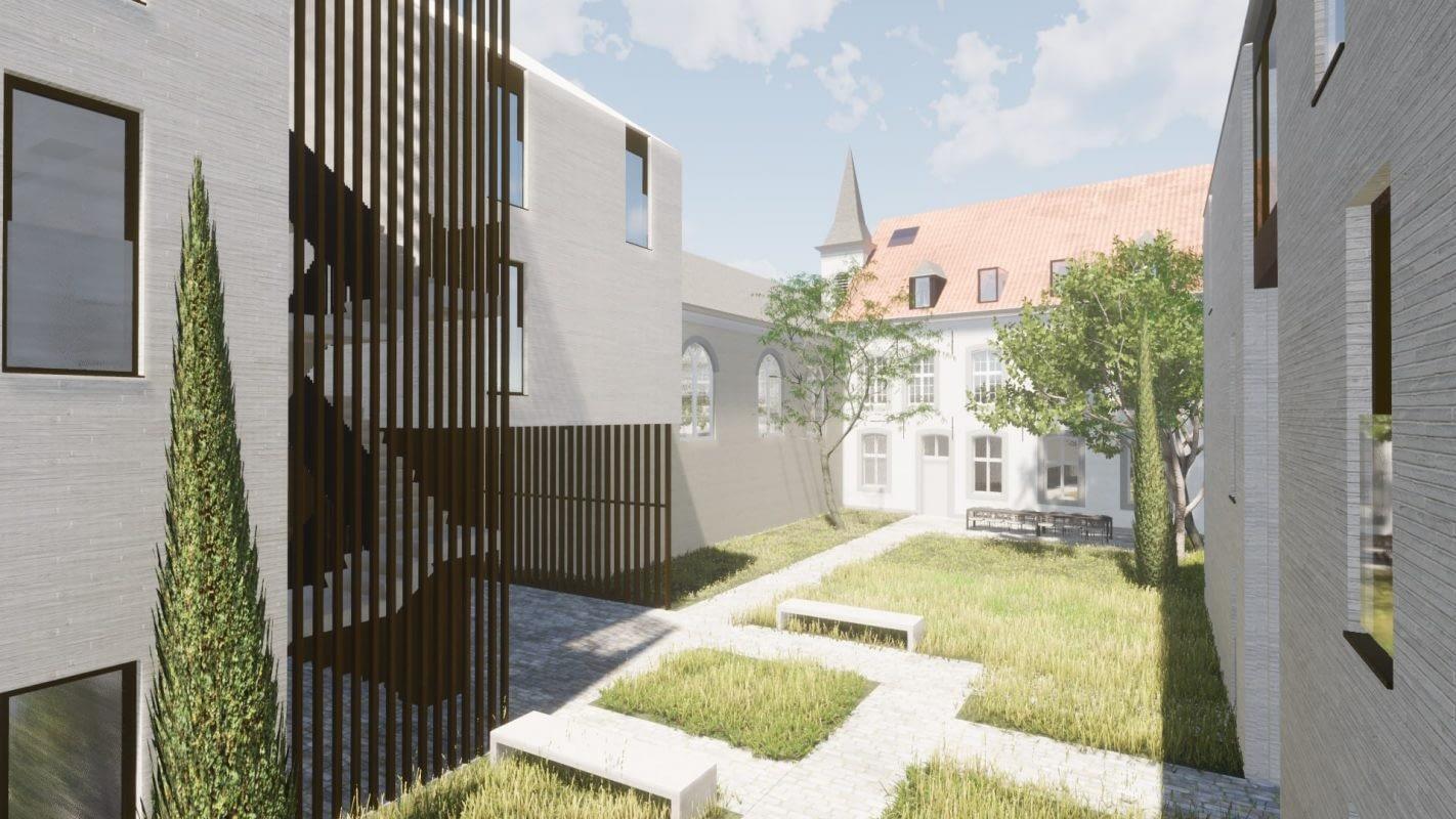 Clarissen Sint-Truiden Restauratie, renovatie en nieuwbouw historische kloostersite door a-tract architecture Hasselt