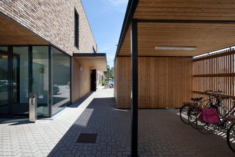 't Dorpvelt Zonhoven a-tract architecture