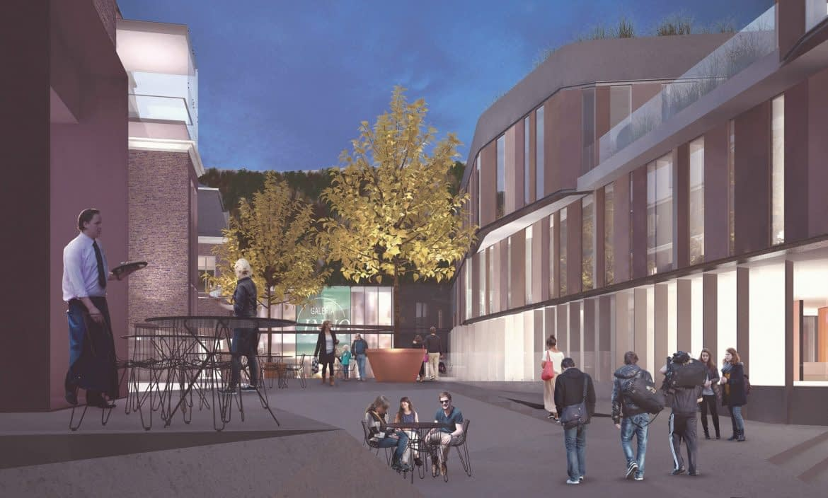 Administratief Centrum Hasselt a-tract architecture