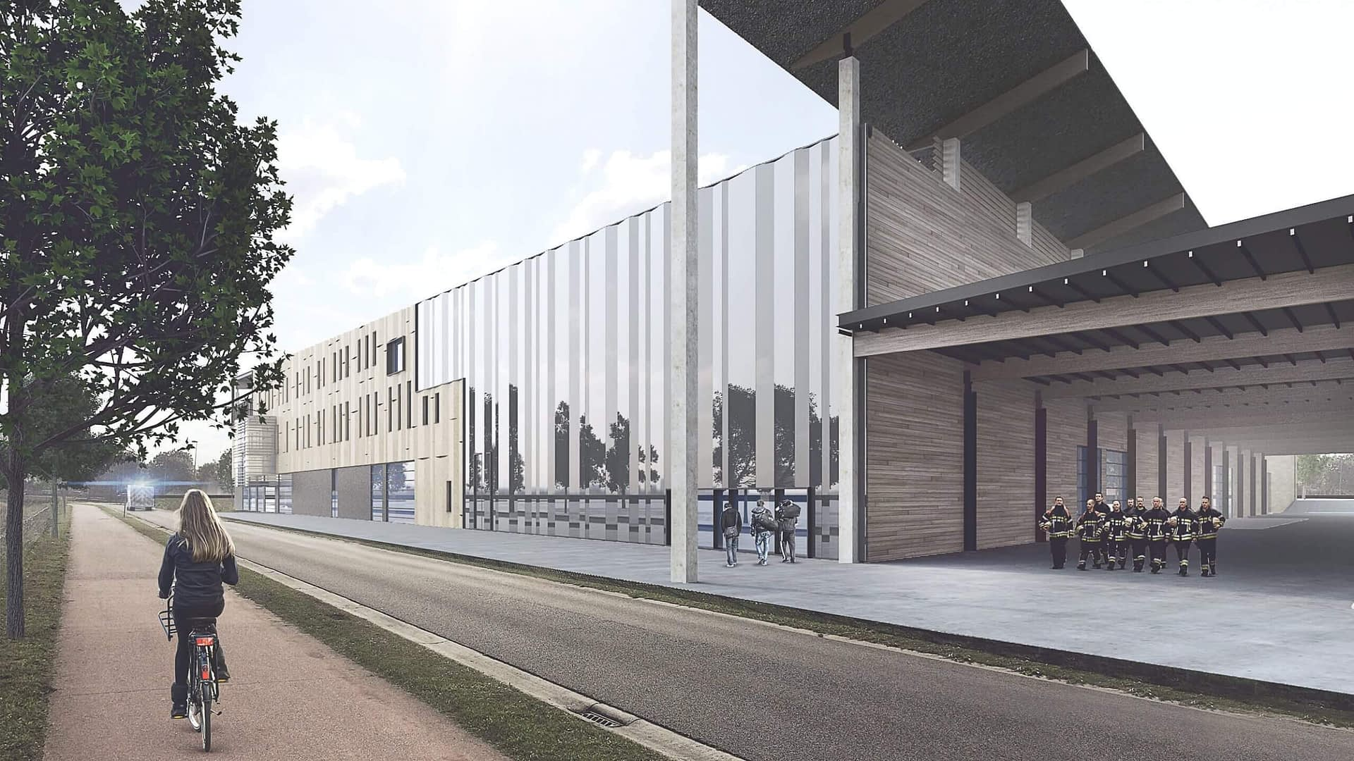 De Nekker a-tract architecture