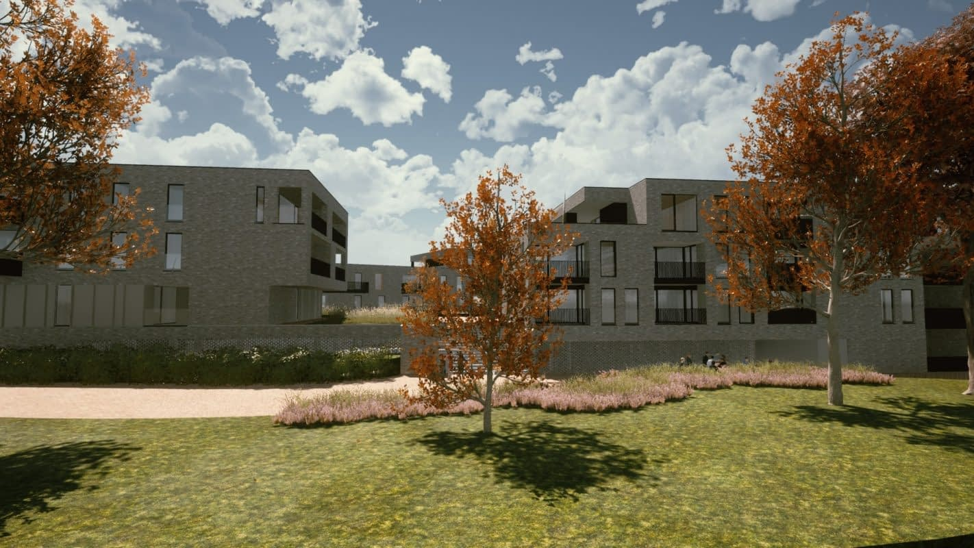 PPS Mijnpark Houthalen-Helchteren a-tract architecture appartementen